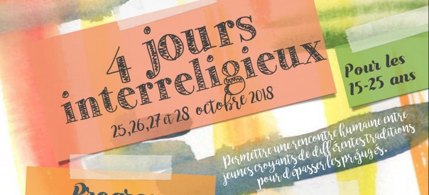 Flyer One stage - ateliers et we interreligieux